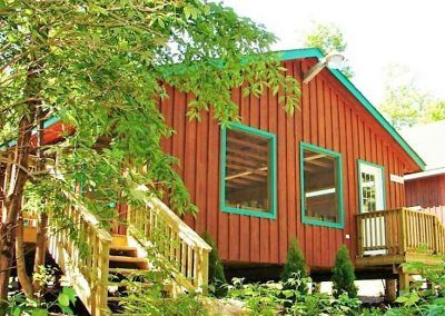 An image of Barb's Place at the Wenonah Outdoor Education Centre.