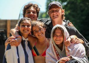 An image of Camp Wenonah Summer Camp staff in Muskoka Ontario