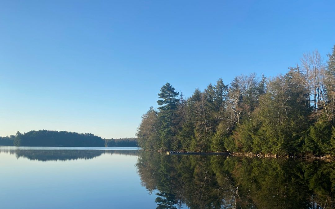 An image of Clear Lake at Camp Wenonah