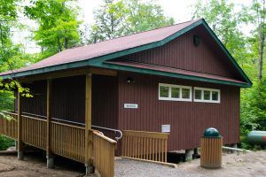 An image of the Wenonah washrooms
