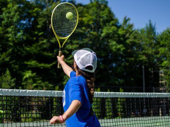 An image of tennis at Wenonah