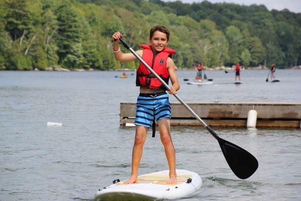 An image of paddleboarding at Wenonah