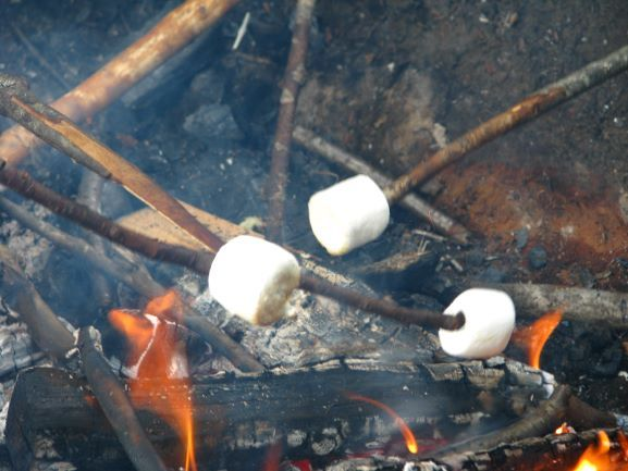 An image of a cookout at the Wenonah Family Experience